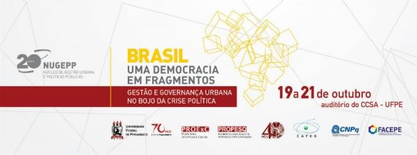 """Seminário """"Brasil – Uma Democracia em Fragmentos"""" (UFPE)"""