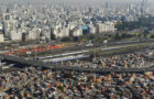 Buenos Aires, 13 de julio de 2011.- Crecimiento demográfico de la Villa 31 en la zona de Retiro.