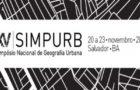 SIMPURB ⎮ Estado, grandes projetos e planejamento corporativo