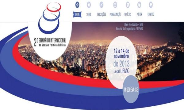 2° Seminário Internacional de Gestão e Políticas Públicas