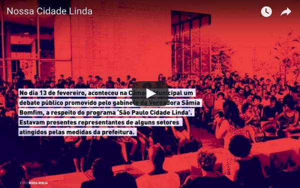 VÍDEO — Nossa cidade linda (São Paulo)
