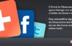 Portal do Observatório das Metrópoles agora interage com as redes sociais
