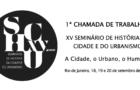 XV Seminário de História da Cidade e do Urbanismo
