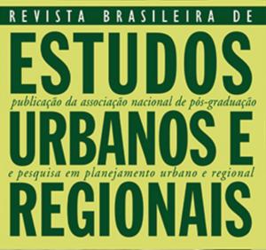 Revista Brasileira de Estudos Urbanos e Regionais