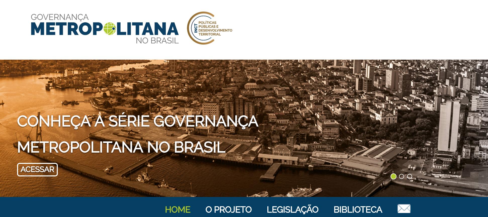 IPEA — Plataforma Brasil Metropolitano
