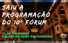 10º Fórum Rio — 20 anos sem Betinho
