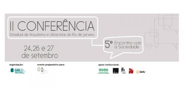 A Cidade e a Urgência do Projeto (CAU/RJ)