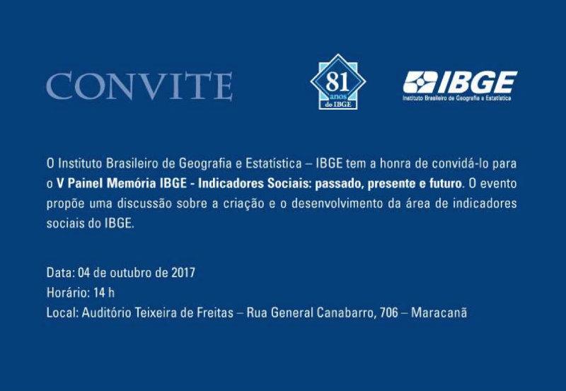 IBGE ⎮ Indicadores sociais: passado, presente e futuro
