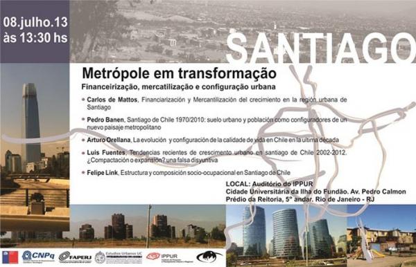 Santiago, metrópole em transformação