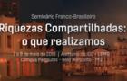 Seminário Franco-brasileiro Riquezas compartilhadas