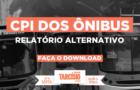 Relatório Alternativo à CPI dos Ônibus no Rio de Janeiro