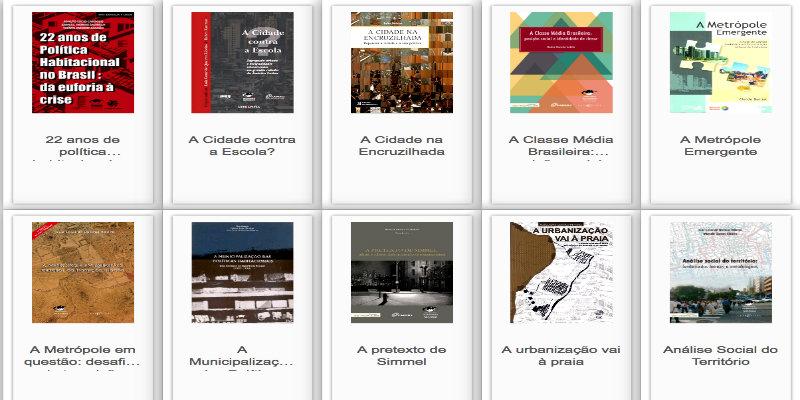 Nova Biblioteca Digital do Observatório das Metrópoles — 100 livros para download