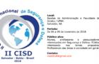 II Congresso Internacional de Segurança e Defesa