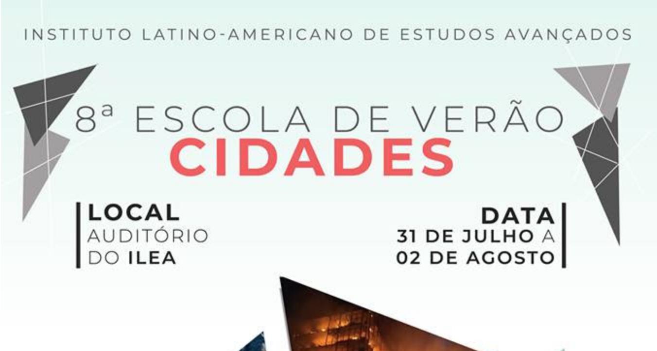 8ª Escola de Verão do ILEA Cidades