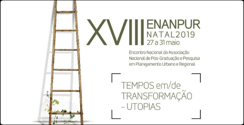 Resultado de imagem para Encontro Nacional da Associação Nacional de Pós-Graduação e Pesquisa em Planejamento Urbano e Regional