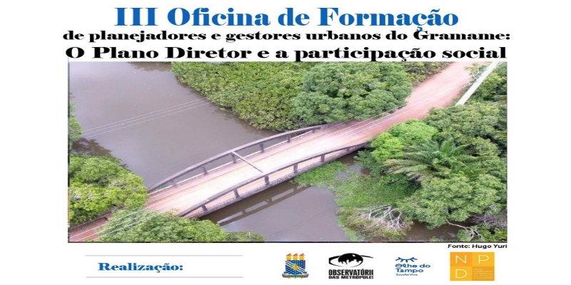 III Oficina de Planejadores e Gestores Urbanos da Paraíba