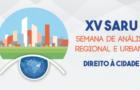 Chamada XV Semana de Análise Regional e Urbana da UNIFACS