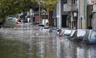 Mudança climática e inundações no Rio da Prata/Argentina