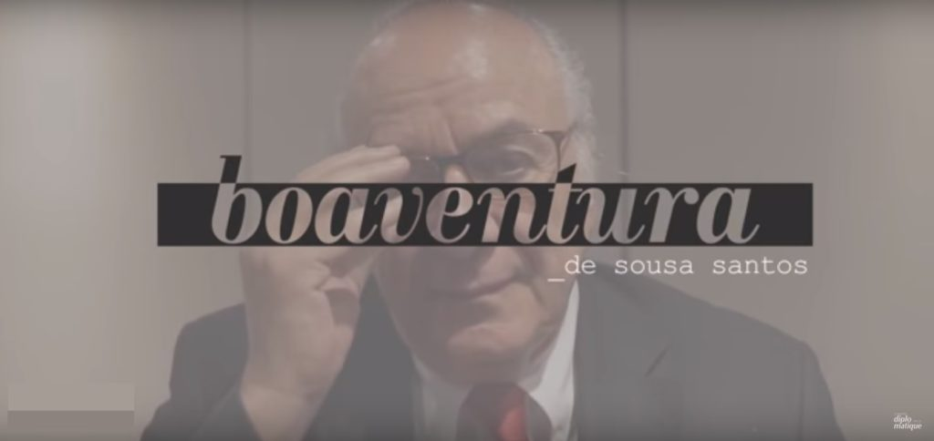 Boaventura de Souza Santos: Descolonizar, Desmercantilizar e Democratizar