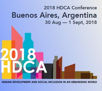 """Participação na conferência """"Human Development and Capability Association"""""""