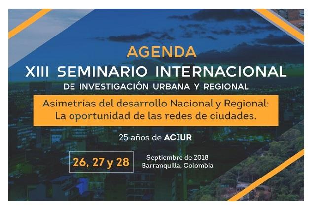 Participação no Seminário da Associação Colombiana de Pesquisadores Urbanos Regionais