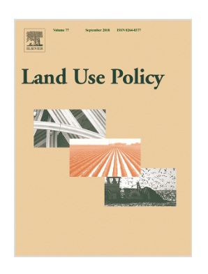 Artigo analisa o Cadastro Ambiental Rural (CAR) na revista Land Use Policy