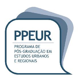 Processo seletivo doutorado em Estudos Urbanos e Regionais (PPEUR/UFRN)