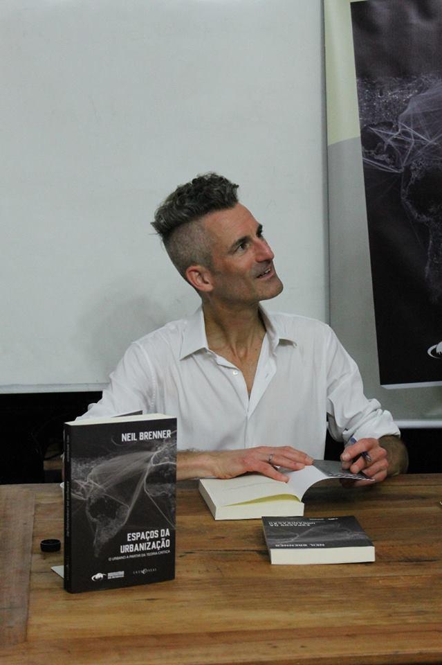 """Lançamento do livro """"Espaços da Urbanização"""" de Neil Brenner"""