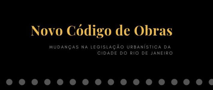 Mudanças na legislação urbanística do Rio de Janeiro