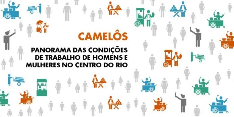 Camelôs: panorama das condições de trabalho de homens e mulheres no centro do Rio de Janeiro