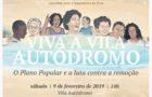 """Lançamento do livro """"Viva a Vila Autódromo"""""""