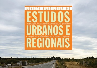 Novo número da Revista Brasileira de Estudos Urbanos e Regionais (RBEUR)