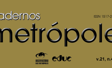 Está disponível o novo número da Revista Cadernos Metrópoles (n.45)