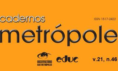 Revista Cadernos Metrópole n.46: o ativismo urbano contemporâneo e sua contraposição à ordem urbana neoliberal