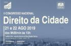 Chamada: II Congresso Nacional de Direito da Cidade
