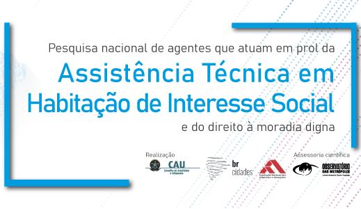 Pesquisa Nacional – Assistência Técnica para Habitação de Interesse Social