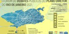 Observatório das Metrópoles participa de fórum sobre o Plano Diretor do Rio de Janeiro
