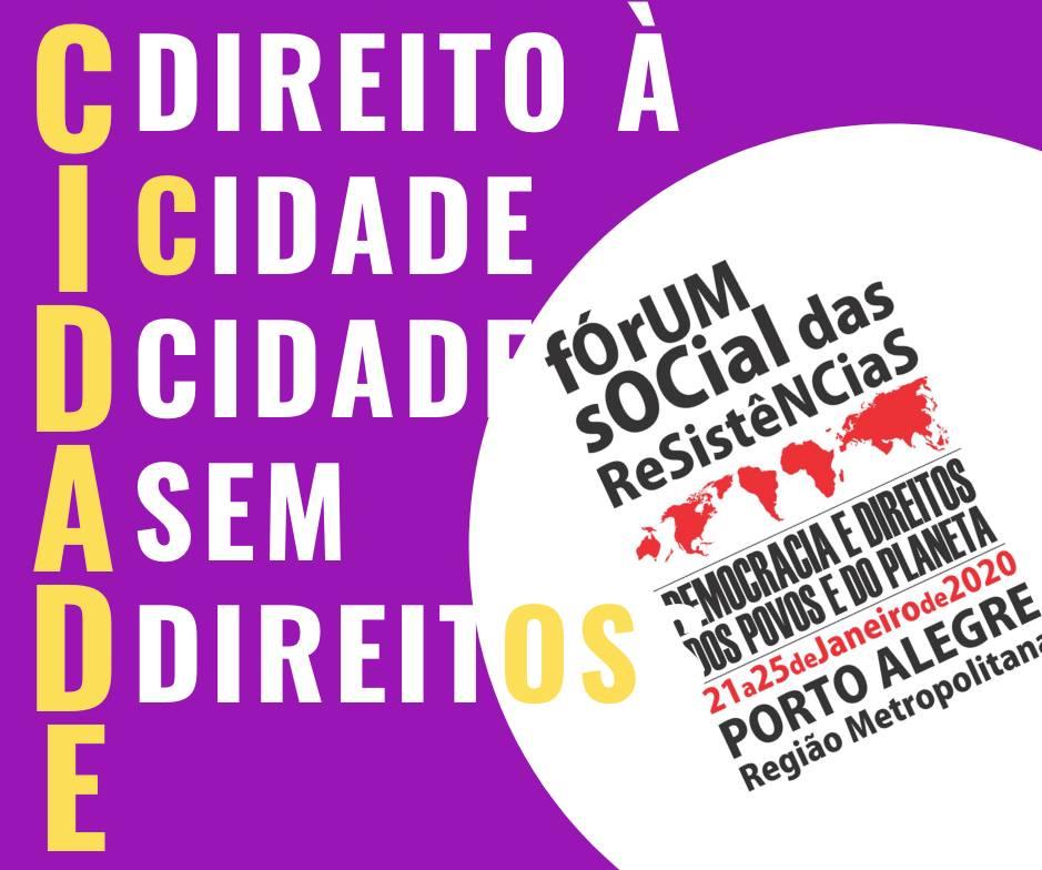 Núcleo Porto Alegre promove atividade durante o Fórum Social das Resistências