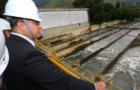 O governador Wilson Witzel (PSC) durante visita técnica ao Guandu. (Foto: Phillipe Lima)
