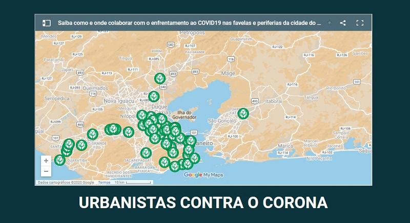 Arquitetos(as) e urbanistas lançam iniciativa de combate ao coronavírus adaptada à realidade urbana brasileira