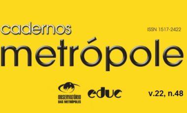 Revista Cadernos Metrópole n.48: a metrópole e a questão ambiental