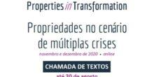 """Chamada de trabalhos: 3º Seminário Internacional """"Properties in transformation: Propriedades no cenário de múltiplas crises"""""""