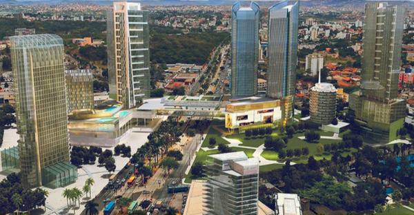 Imagem projeto Nova BH (2013). Prefeitura de Belo Horizonte