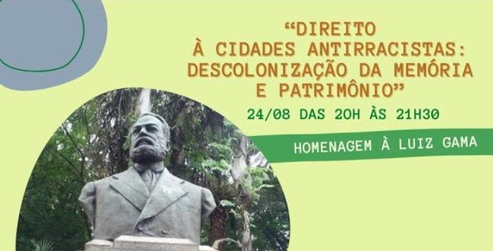 Descolonização da memória e do patrimônio cultural urbano em debate