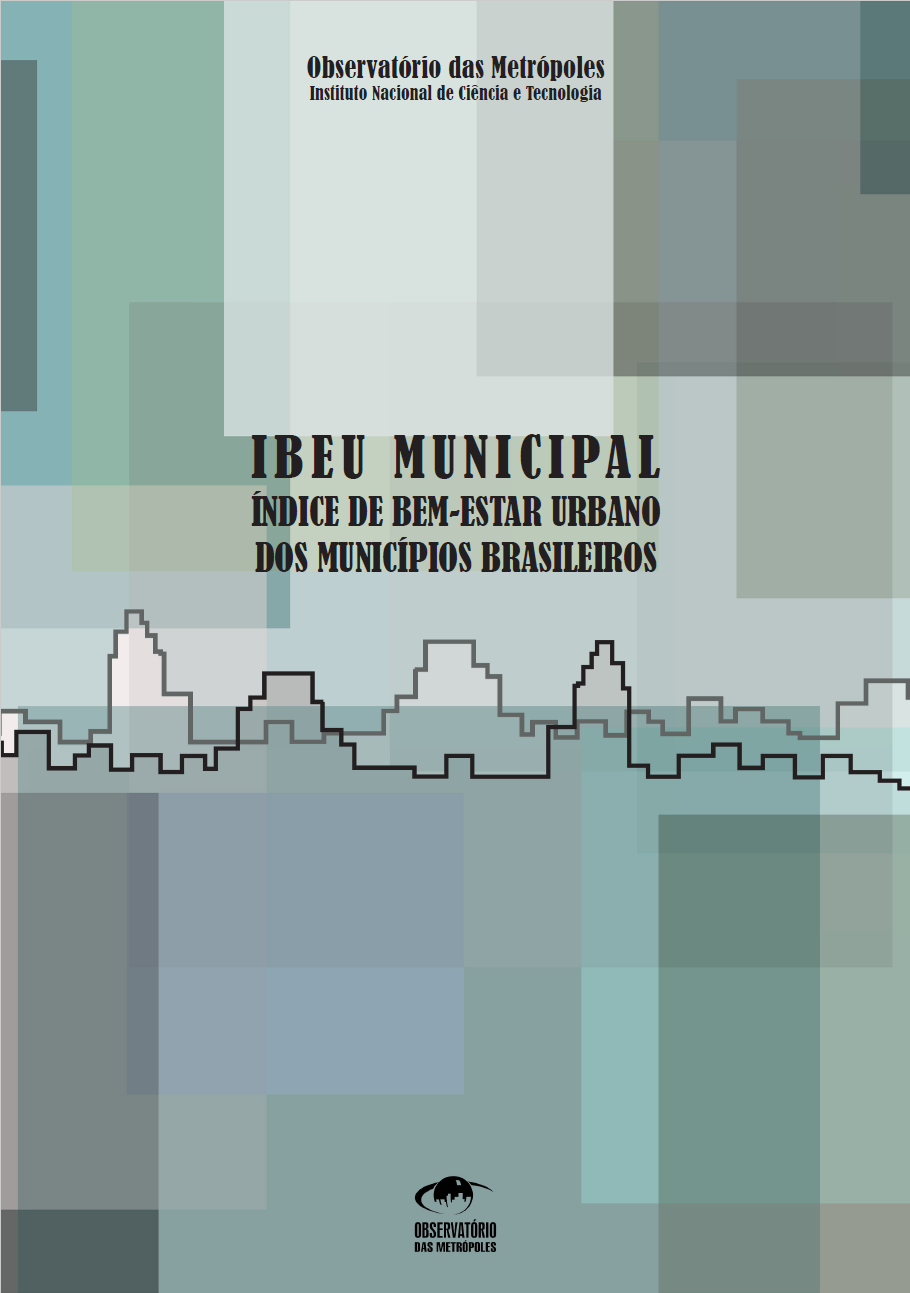 Índice de Bem-Estar Urbano dos Municípios Brasileiros (IBEU Municipal)