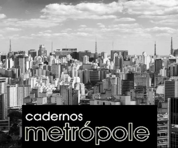 Chamada de artigos para a Revista Cadernos Metrópole nº 53