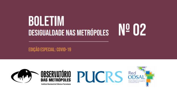 Desigualdade nas Metrópoles: situação social será dramática sem o auxílio emergencial