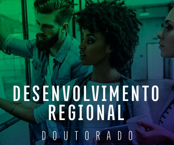 Doutorado em Desenvolvimento Regional da FURB