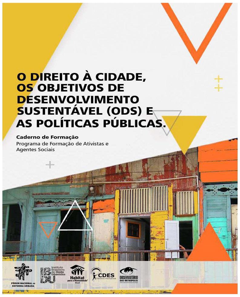O Direito à Cidade, os Objetivos de Desenvolvimento Sustentável (ODS) e as Políticas Públicas
