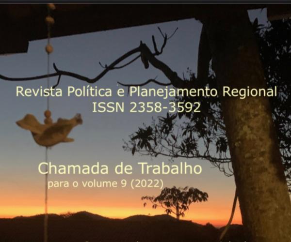 Revista de Política e Planejamento Regional (RPPR) v.9